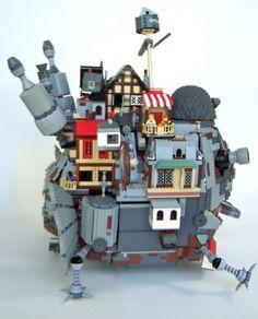 Howl's Moving LEGO Castle