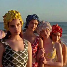 #오마리뉴스  #캘리포니아 해변가에서 촬영한 #미우미우 의 캠페인 비디오  #SUDDENLYNEXTSUMMER 가 공개됐어요.  여배우와 모델들의 발랄함 덕분에 1940년대 영국의 수영복에서 영감받은 빈티지 무드의 스윔수트 컬렉션이 더욱 싱그럽게 느껴지네요. editor/CSY #여름언제오나요 #miumiu #패션필름 @miumiu  via MARIE CLAIRE KOREA MAGAZINE OFFICIAL INSTAGRAM - Celebrity  Fashion  Haute Couture  Advertising  Culture  Beauty  Editorial Photography  Magazine Covers  Supermodels  Runway Models