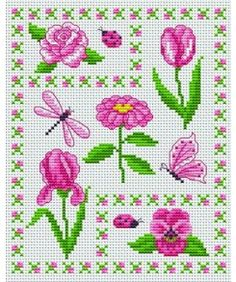 The flower maze. Tons of FREE CROSS-SITCH PATTERNS at this site: just found a site that has really easy to download embroidery patterns for free. It's http://club-point-de-croix.com/?code_avantage=CWcplRsmji Plus, if you click on this link, http://club-point-de-croix.com/?code_avantage=CWcplRsmji  , you'll automatically receive a gift when you subscribe. I use this site all the time; there are hundreds of all different types of patterns, and there are new patterns added everyday.