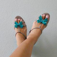 Mini Bow Shoe Clips