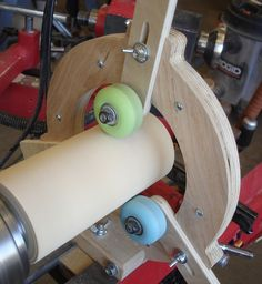 Franklin Phonetic School - When we begin to work from this side, for safety reasons, we will have to reverse the steady rest so the wheels are out of the way.  http://woodworkingteachers.com/default.aspx?g=posts&m=9712&#9712   New Project Ideas - Woodworking - Woodworking Teachers