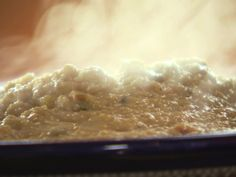 Creamy Cheese Grits from Ree Drummond....to be served with Beef Stew with Root Vegetables!