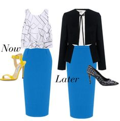 Styling your favorite summer skirts now and into the fall and winter.