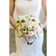 Wedding bouquet via Polyvore