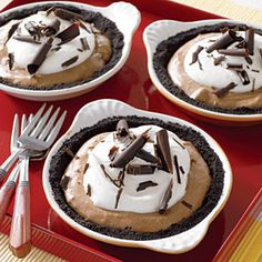 Delight Guests with Delicious Holiday Pies | Mocha Cream Pie | AllYou.com