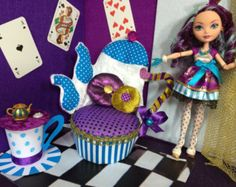 Bed for Monster High Ever after High doll furniture
