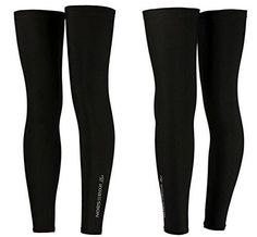 Robebon Recovery Compression Leg Sleeves,sport Football Basketball Cycling Strech Leg Knee Long Sleeve-black *** Continue to the product at the image link.