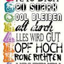 """*Poster, Kunstdrucke* mit moderner Poster-Illustartion von _*Poster und mehr - My-SweetHeart*_  Die liebevoll designten Poster sind echte Hingucker.  Poster Motiv: """"+Tschakka auf..."""
