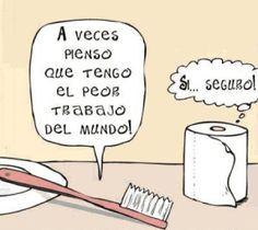 Elentrompe: Papel toilette