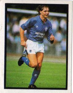 Ally McCoist of Rangers in 1987.