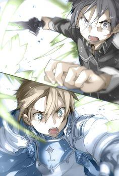 Kirito and Eugeo
