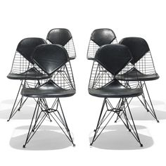 "Eames, DKR ""Bikini Chairs"", Herman Miller, 1951. via Wright"