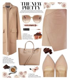 """""""Sweet Nude """" by irixiketa ❤ liked on Polyvore featuring Charlotte Olympia, Carven, MANGO, Rochas, Tom Ford, Charlotte Russe and Bobbi Brown Cosmetics"""