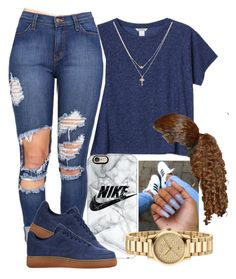 """""""one dance"""" by arii-bankss ❤ liked on Polyvore featuring Monki, Casetify, Gucci and Betsey Johnson"""