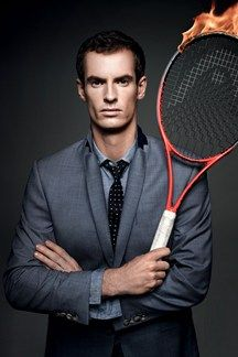 Andy Murray, Scotland's tennis hero. Born in Glasgow. Raised in Dunblane. #Andymurray #scotland