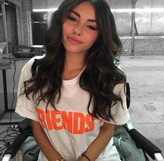 Image about hair in Madison Beer by Daisy on We Heart It Estilo Madison Beer, Madison Beer Style, Madison Beer Outfits, Madison Beer Makeup, Madison Beer Hair, Madison Bear, Beer For Hair, Fall Inspiration, Pretty People