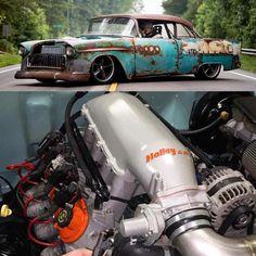 Custom Muscle Cars, Chevy Muscle Cars, Custom Cars, Rat Rods, Rat Rod Cars, Us Cars, Drag Cars, Modified Cars, Amazing Cars
