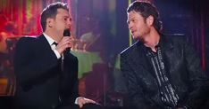 Michael Buble And Blake Shelton Perform Heartfelt Duet Of 'Home' - Music Videos