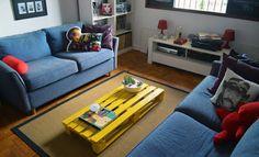 Coisinhas de Letricia: Mesas de centro de pallet