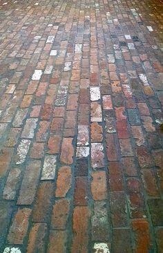 Mill Blend Thin Brick Veneer Floor.