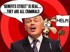 Slave #Britain: Is Duncan Smith insane declaring 'Benefits Street' reality & claimants 'criminals'? #ids #bedroomtax