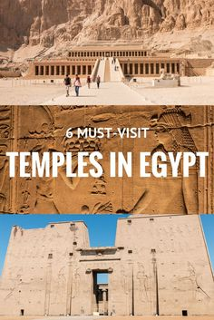 6 must-visit temples in Egypt Always wanted to visit Egypt? Here are 6 must-visit temples for your next trip to Egypt, including world famous ones such as Abu Simbel and Karnak. BONUS: a video of all 6 temples! Israel Travel, Egypt Travel, Africa Travel, Vietnam Travel, Best Places To Travel, Places To See, Cairo, Chobe National Park, Road Trip