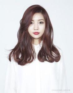 #bold perm #long hair