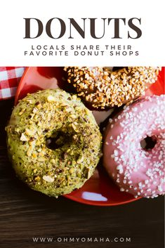 Locals share where they go for the best donuts in Omaha. Locations include old school, family-run shops to new artisan donuts with locally-sourced ingredients. Best Family Vacation Destinations, Midwest Vacations, Vacation Ideas, Family Vacations, Omaha Restaurants, Visit Omaha, Road Trip Food, Road Trips, Midwest City