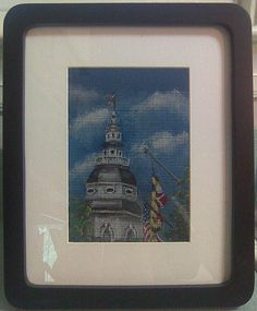 Maryland State House   by Anna's Painted Screens