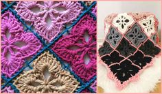 You will love this new pattern and I definitely think it's worth trying. Not many patterns are so universal - you can use the Heliotropeghan pattern to crochet a chunky baby blanket or rug for a baby room and in the meantime you can create a delicate and thin new doily for the summer! This beautiful