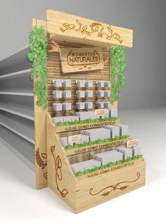 Pembuatan stand Healthy Snack Station on Behance Kiosk Design, Display Design, Booth Design, Retail Design, Store Design, Rak Display, Visual Display, Display Shelves, Pallet Display