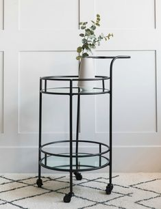 Serve your guests in style and luxury with our collection of industrial and vintage drinks trolleys here at Rose & Grey. Vintage Drinks Trolley, Drink Table, Metal Furniture, Vintage Industrial, Bar Stools, New Homes, Dining Room, Lounge, Shelves