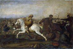 Ottoman Turks on horseback