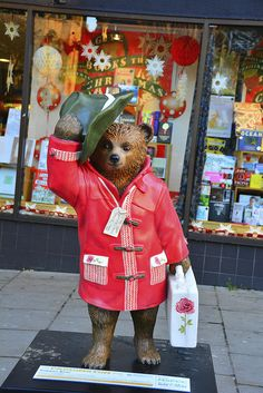 Paddington Bear Trail, Dapper Bear By Guy Ritchie | Flickr - Photo Sharing!