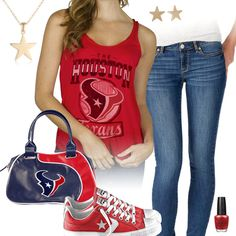 Houston Texans All Star Outfit
