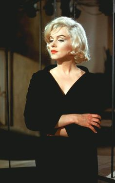 "Marilyn in a scene from ""Let's Make Love"", 1960."