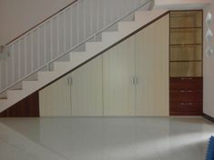 Painted Doors, Garage, Stairs, Model, Painting, Furniture, Home Decor, Carport Garage, Stairway