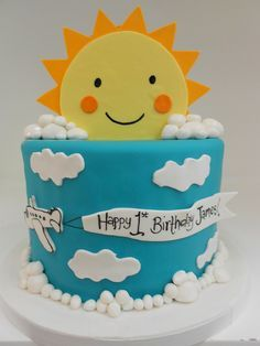 sun birthday cake - Google Search