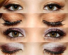 So pretty! This looks good for brown eyes:)
