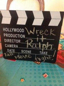 Wreck it Ralph movie theme dinner idea