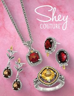 This bold and classic collection of sophisticated styles exhibits vivid gemstones and diamonds combined with 14K Gold accents, gold-plating, and sterling silver. The Shey Couture fashion collection offers bold designs that can be mixed and matched to enhance any ensemble. #QualityGold #GoldJewelry #14K #GemstoneJewelry #GemstoneBracelets #DiamondBracelets #CostumeJewelry #FashionJewelry #SterlingSilver #SheyCouture Diamond Bracelets, Gemstone Bracelets, Gemstone Jewelry, Classic Collection, Sophisticated Style, Gold Plating, Jewelry Trends, Gold Accents, Couture Fashion