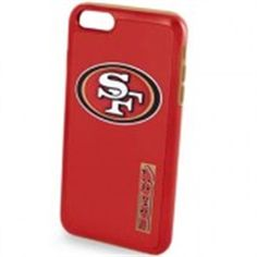 Forever Collectibles San Francisco 49ers Dual Hybrid Case for Apple iPhone 6 / 6 #POP0515-00001