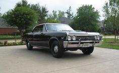 1967 Chevelle SS Black Survivor 396/350 4 Speed