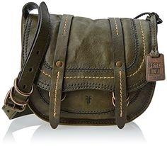 63cfe59ef8 FRYE Anna Saddle Messenger Handbag