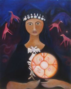 "Claudia Olivos ""I am an artist who is perpetually engaged in the creation of a seemingly ethereal novel….: my life lived among others wi. Totems, Ethereal, Christmas Ornaments, Holiday Decor, Artwork, Artist, Paintings, Spirit, Angel"