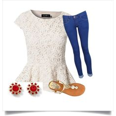 4th of July Outfit Ideas #summer