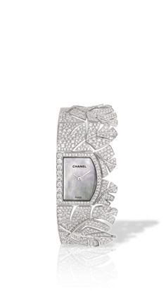 Chanel - WATCH IN 18K WHITE GOLD AND DIAMONDS