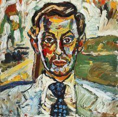 'Portrait of Francis Matthews' (British actor) - John Bratby (1928–1992)