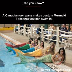 NOW I CAN FUFILL MY DREAM OF BEING  A MERMAID. SERIOUSLY