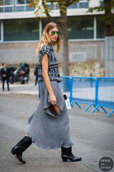 Paris SS 2017 Street Style: Veronika Heilbrunner